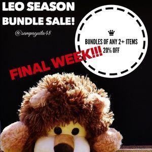 ‼️FINAL WEEK - bundles of 2 or more 20% off.
